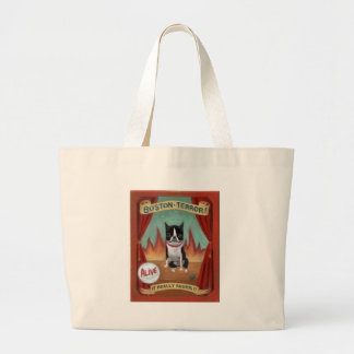 Boston Terror Large Tote Bag