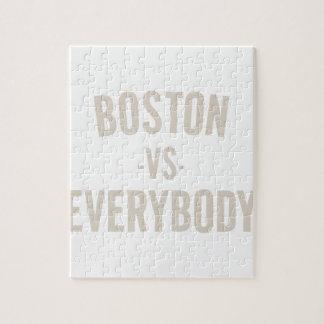 Boston Vs Everybody Jigsaw Puzzle