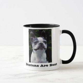 Bostons Are Best Boston Terrier Mug