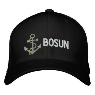 BOSUN Yacht Embroidered Cap Embroidered Baseball Cap