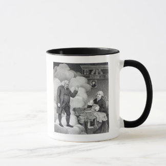 Boswell and the Ghost of Samuel Johnson Mug