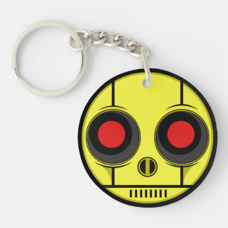 Bot Face Keychain