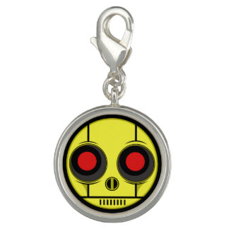 Bot Face Photo Charms