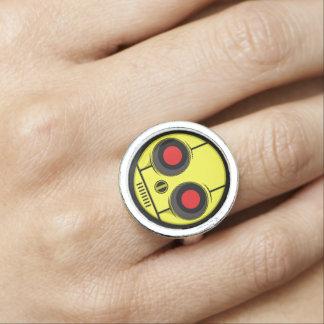 Bot Face Ring