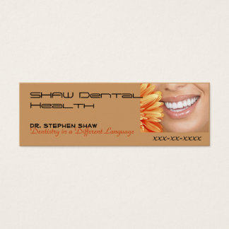 bot marketing, SHAW Dental Heal... Mini Business Card