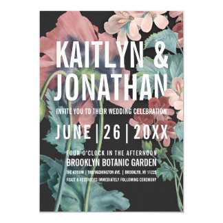 Botanic Embrace Wedding Invitations