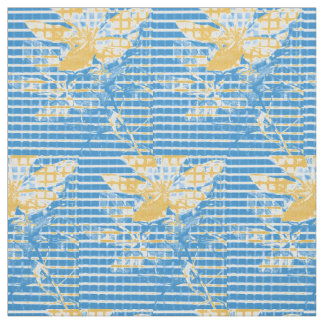 Botanic Pop Print Fabric Neutral