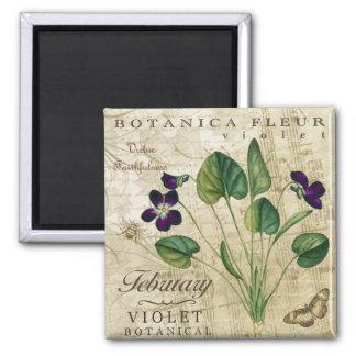 Botanica February Magnet
