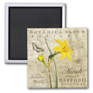 Botanica March Magnet