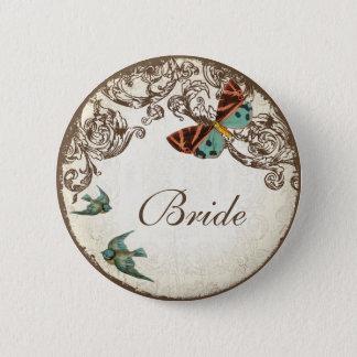 Botanica Wedding Ensemble 2 Inch Round Button