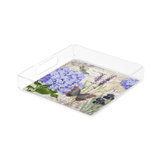 Botanical Acrylic Tray