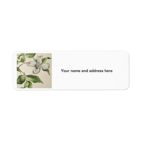 Botanical address lebels