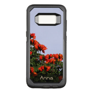 Botanical African Tulip Tree Photo any Text OtterBox Commuter Samsung Galaxy S8 Case