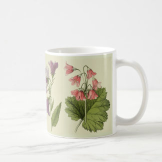 Botanical Alpine Wildflower Flowers Coffee Mug