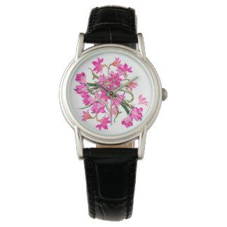 Botanical Amarylis Flowers Floral Watch