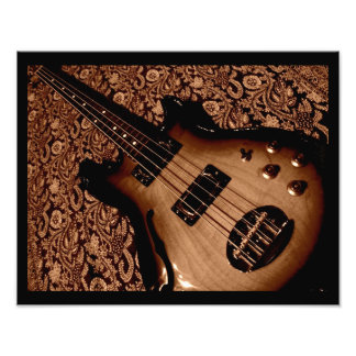 botanical bass photo print