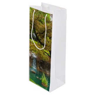 Botanical Bliss Wine Gift Bag