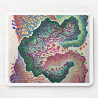 Botanical Breath Watercolor Mouse Pad