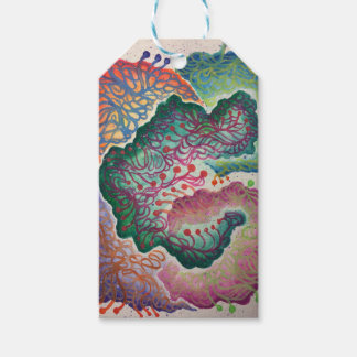 Botanical Breath Watercolor Pack Of Gift Tags