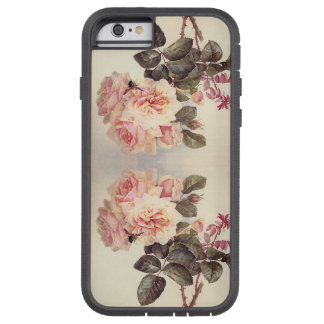 Botanical Cabbage Rose Flowers iPhone 6 Case