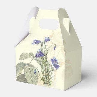 Botanical Campanula Wedding Favors Favor Box