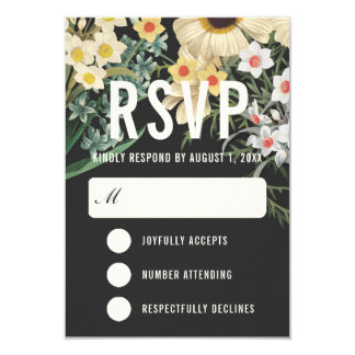 Botanical Dream Wedding RSVP Cards