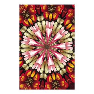 Botanical Dreams Mandala Customized Stationery