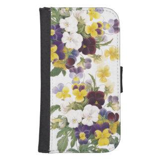 Botanical Flowers Samsung Galaxy Case Galaxy S4 Wallet