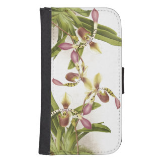Botanical Flowers Samsung Galaxy Case Galaxy S4 Wallets