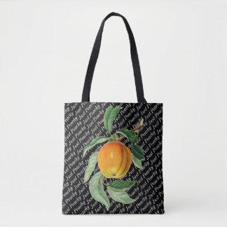 Botanical Fruit Peach Just Peachy Tote Bag