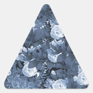 Botanical garden #3 triangle sticker