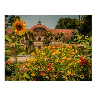 Botanical Garden Balboa Park Postcard