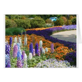 Botanical garden card
