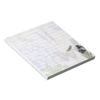 Botanical garden notepad