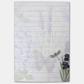 Botanical garden post-it® notes