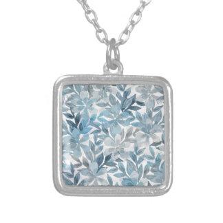 Botanical Garden Silver Plated Necklace
