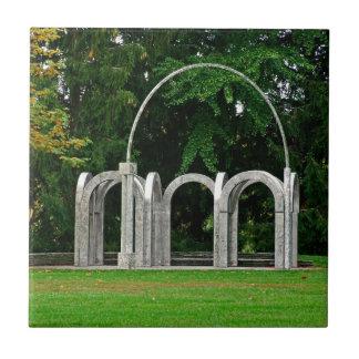 Botanical Gardens Arch Tile