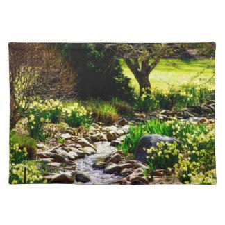 botanical gardens placemat