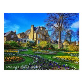 Botanical Gardens, Sheffield Postcard