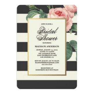Botanical Glamour | Bridal Shower Invitation