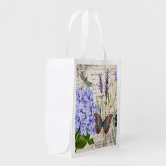 Botanical Grocery Bag