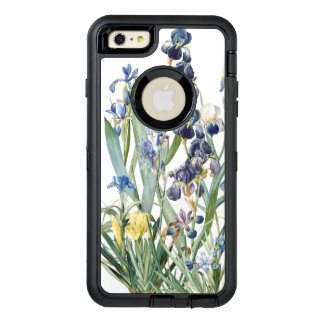 Botanical Iris Flowers Floral Garden Case