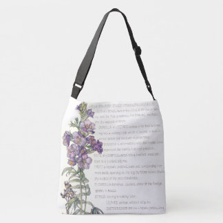 Botanical Jacobs Ladder Flowers Tote Bag