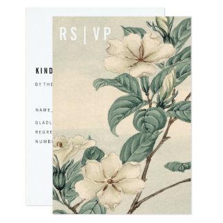 Botanical Modern RSVP Card