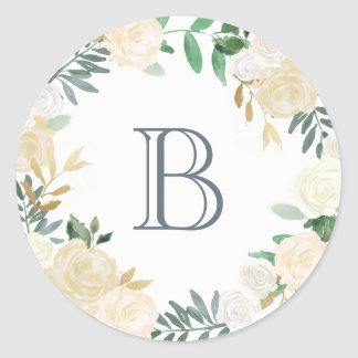 Botanical Monogram Sticker