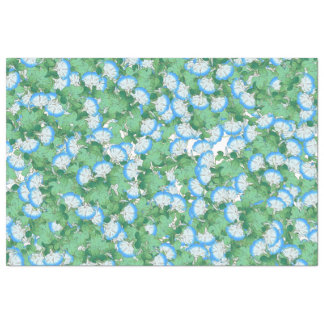 Botanical Morning Glory Flower Floral Tissue Paper