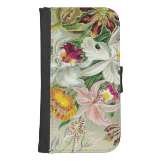 Botanical Orchid Flowers Floral Tropical Phone Wallet Cases