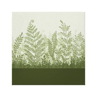 Botanical Plant Illustration Canvas