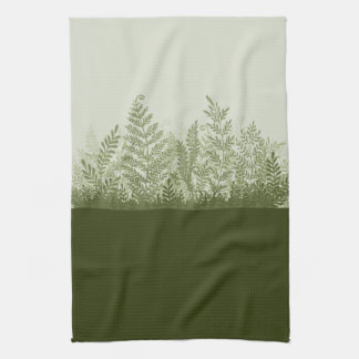 Botanical Plant Illustration Kitchen Towel
