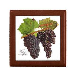 Botanical Purple Grapes Jewelry Box (Customize)